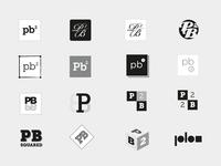 P.B. Squared Logo Concepts