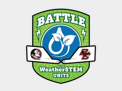 Battle of the WeatherSTEM Units weather logo