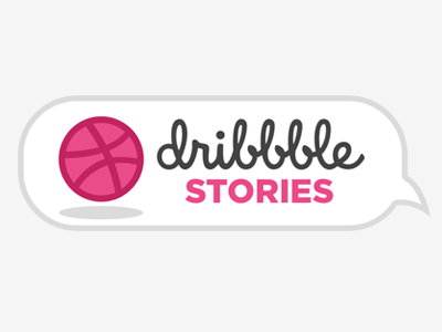 Dribbble Stories Event meetup events logos