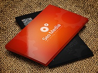 Business Card : Quick Response Business Card