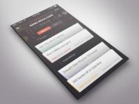 Half Past Now - iOS App