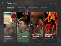 Events Tango - Categories