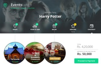 Events Tango - Checkout Summary Page