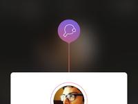 Full app view