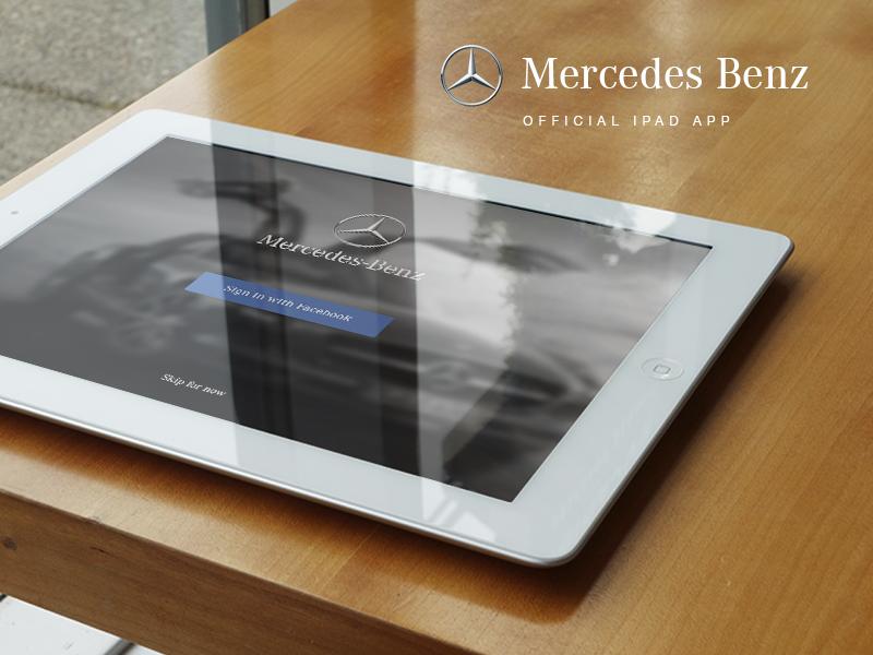 Mercedes Benz - Magazine mercedes benz car ios ipad magazine