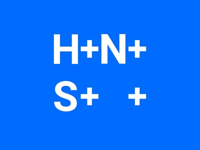H+N+S Logo logo