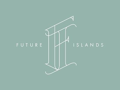 Future Islands Monogram fanart monogram
