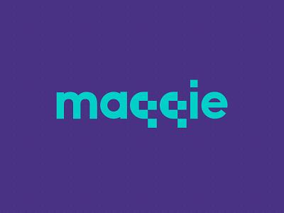 Maqqie Logo branding logo