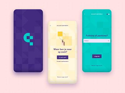 Maqqie App Create Account application branding ui ux app