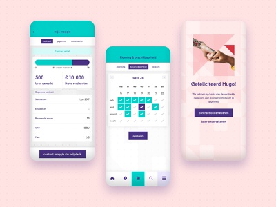 Maqqie - be your own boss app design contract business planning ui ux app