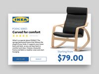 Ikea Product Card