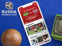 FIFA world cup app Concept