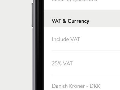 Settings setting preferences ios app mobile iphone