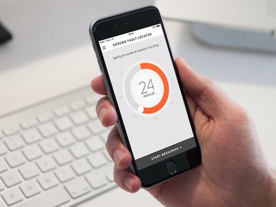 Technician iOS App Concept (WIP) wheel flat iphone technician b2b app ios