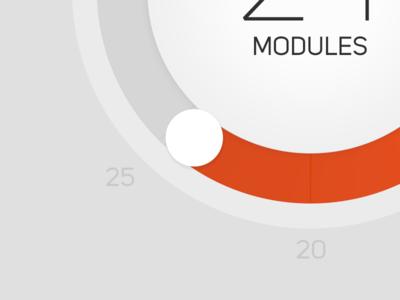 Technician iOS App Concept (WIP) 6plus iphone app ios technician flat b2b wheel