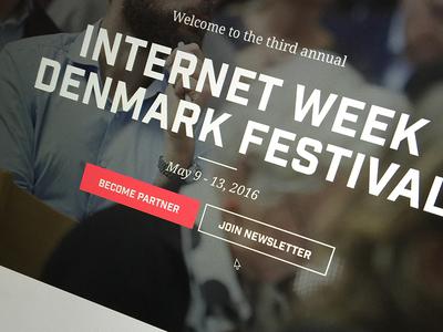Work in progress ui web website festival conference