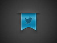 Twitter Ribbon - Rebound