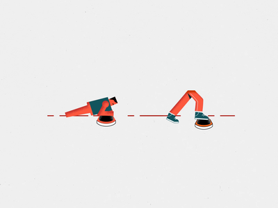 TERRA-CORE sport newpost smooth minimal simple letters gym orange texture sport after effects character typeface logo loop illustration motion vector animation gif 2d