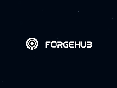 FORGEHUB science fiction cool typography space typeface eye sound particles robot shadow light texture after effects halo vector gif motion animation 3d 2d