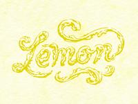 Lemon Lettering