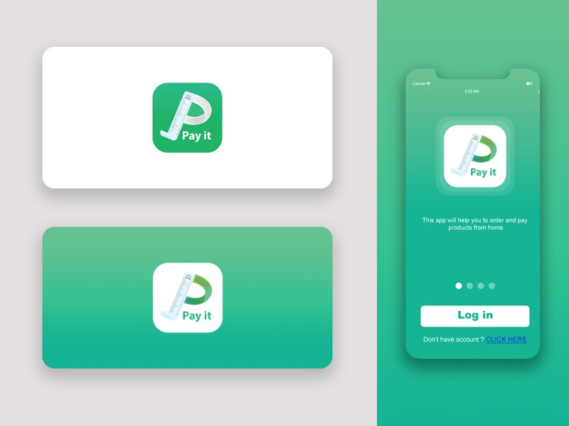 pi icon vector branding buy logo splash screen mobile app payment app design ui app logo design logo