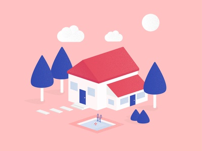Isometric house illustration house isometric