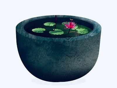 Flowerpot pot art flower illustrations flowerpot illustration