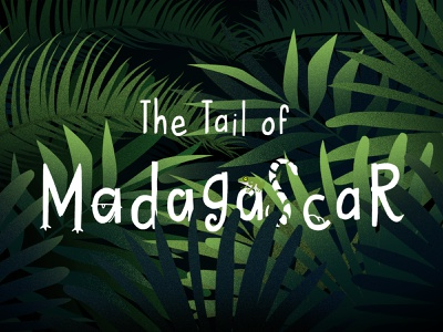 The Tale of Madagascar forest evening vector art hill light tree illustrations video tail project lemur nature landscape illustration über chester zoo. madagascar