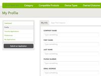 Application Profile