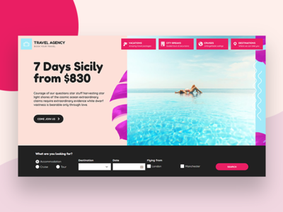 Travel Agency WordPress Theme template creative webdesign wordpress wordpress theme travel reservation traveling vacation travel agency tourism tour hotel hotel booking memphis cruise colorful booking system booking agency
