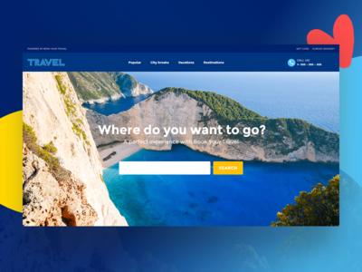Travel & Tours WordPress Theme