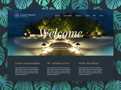 Luxury Hotel WordPress Theme