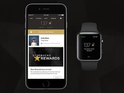 Starbucks 4.0 watchos coffee watch apple watch iphone ios starbucks