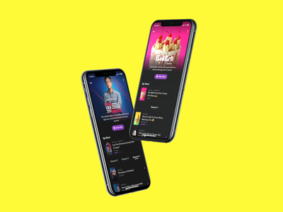 Snapchat Shows ui mobile design iphonex snap inc episodes profile product design snapchat filter snapchat originals shows snapchat snap