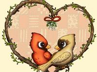 Merry Christmas and Mistletoe