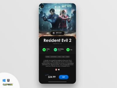 Epic Games Store - Resident Evil 2!