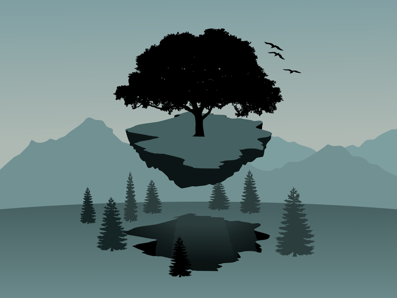 Zemeplocha vector vector art illustration