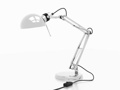 3D model lamp ikea light lamp blender cycles render rendering 3d model 3d