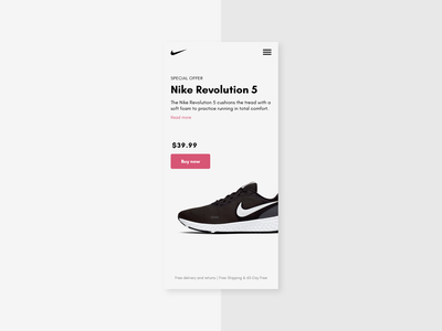 Special offer discount specialoffer mobile ui sneakers ecommerce app ecommerce dailyui