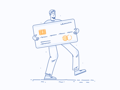 Afterclap Illustrations security welcome payment outline lineart ui ui illustration web illustration vector flat character design character illustration design
