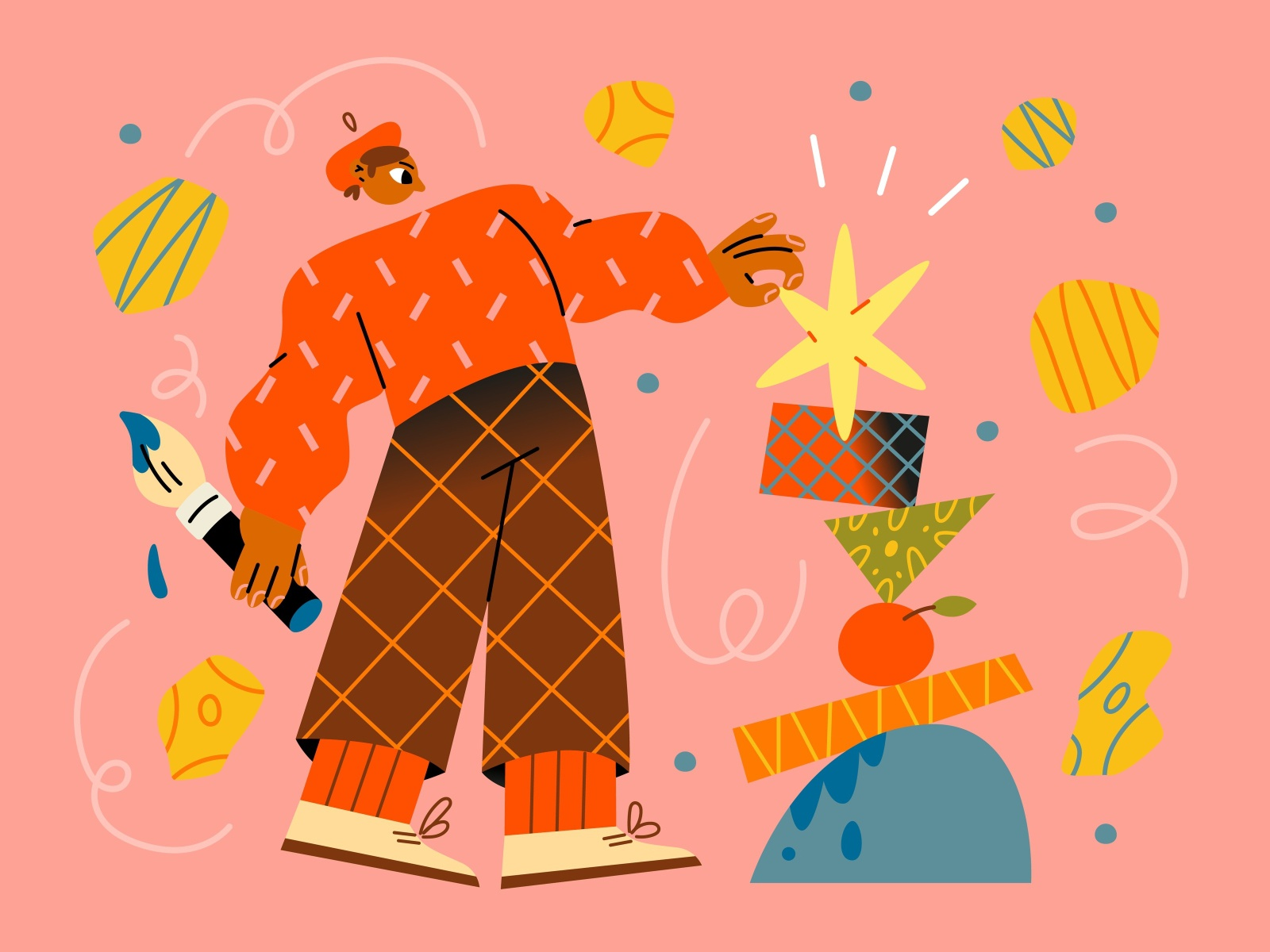 Jose Illustration Pack