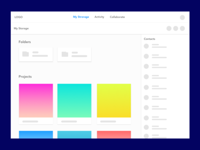 Collaborate & Sharing Tool Concept