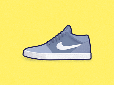 Nike SB skate sb nike illustration icons icon cool color shoe shoes