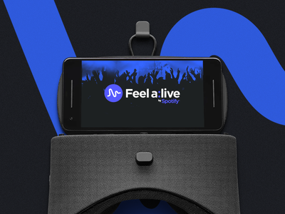 Feel a:live future lions android ios mobile spotify music app vr