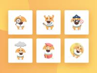 Social app - Character Design