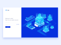 SaaS Products Login Page - Real Estate