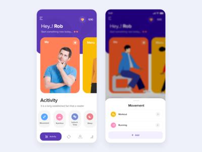 Activity Mobile App