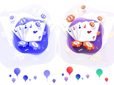 #4 Poker Games   : A or B? gamification badges gamification badges fun 2d poker icon flat art direction vector design icon illustration gambling chip rummy gambling casino icon solitaire solitaire icons poker icon poker games icon poker games illustration poker game