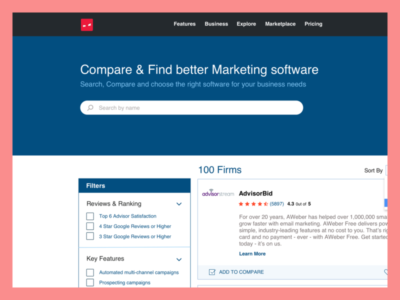 Find, Compare, Rate best Marketing Softwares userflow ranking reviews user flow design ui listing ux ui listing ranking and reviews ui ux ranking and reviews website reviews ui ranking ui ranking and review ui