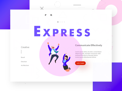 UI and Landing Page Design for a new Startup in Bangalore home page design app modern concept creative illustration layout dailyui web design ux ui